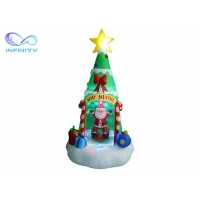 Quality 7Ft Led Light Up Inflatable Christmas Tree Gift Wrapped for sale