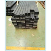 Quality 6063 T5 Square Aluminium Channel Profiles Aluminum Extrusion Tube for Railway Channel for sale