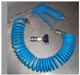 Quality pu hose with blow dust gun for sale