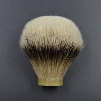 Quality Super Slivertip Badger Hair Shaving Brush Knots Fan Shape And Ball Shape for sale