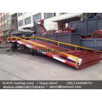 Buy moveable Dock Ramp,hydraulic ramp for forklift,hydraulic loading platform at wholesale prices