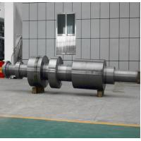 Quality 250 Ton Heavy Steel Forgings Heat Treatment / Metallurgy Forged Shaft for sale