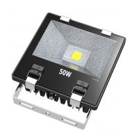 China Ultra Bright 50W COB Waterproof LED Flood Lights With Tempering Glass Cover on sale
