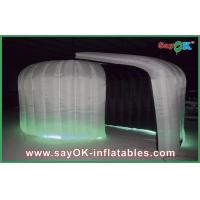 Quality Color Change Inflatable Photo Booth White Inflatable Holiday Decorations for sale