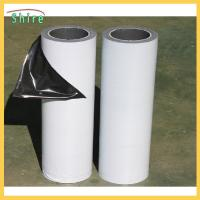 Quality Low Adhesion Black&white Protective Film For Mirror Polished Stainless Steel Sheet for sale