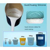 China Tin cure liquid molding silicone rubber for plaster casting cornice mold on sale