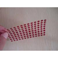 Quality Anti - Forgery Round Water Sensitive Label Pressure Sensitive Adhesive Type for sale