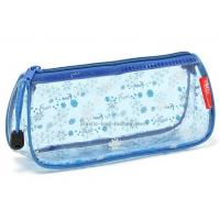 Quality Zipper Closing PVC Cosmetic Bag Cute Appearance With Heat Sealed Process for sale
