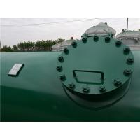 Buy High Pressure Gas Storage Tanks For Emergency Oxygen Horizontal Low Alloy Steel at wholesale prices