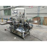 Buy Full Automatic Adhesive Double Side Bottle Labeling Machine With Coder at wholesale prices