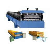 Quality PLC Control Roof / Wall Panel Color Steel Plate Roll Forming Machinery CE Approved for sale