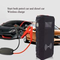 Buy ce certificate wireless charge 12v portable jump starter with intelligent clamp at wholesale prices