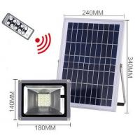 Buy cheap 40led remote control Solar floodlight 20W from wholesalers