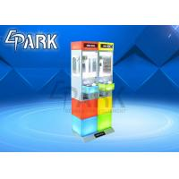 China Coin operated gift scratch prize game machine amusement crane claw vending machine for sale on sale