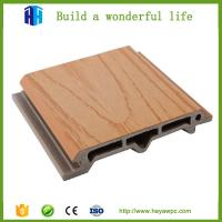 Quality Outdoor wood plastic composite wpc wall panel wpc exterior wall cladding for sale