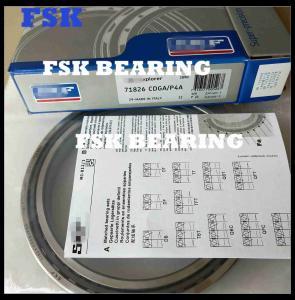 China Germany 71826 CDGA / P4A Ball Bearing Angular Contact , Single Row Spindle Bearing on sale
