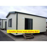 Quality Comfortable Family Portable Modular Homes Movable With Galvanized Painting Surface for sale