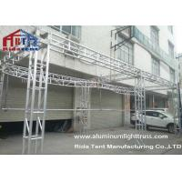 Stage Roof Used Aluminum Truss Easy Disassembly For Campus Singing Competition