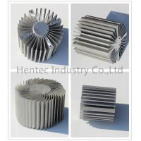 6060 - T5 aluminium heat sink profiles with finished machining , anodized