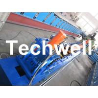 Quality Rolling Shutter Door Track Roll Forming Machine With 16 Forming Station TW-DTM45 for sale