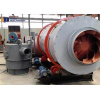 Triple Pass Three Cylinder Sand Dryer Machine For Mortar Foundry Industry for sale
