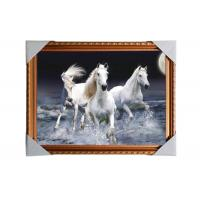 Quality 3D Art Custom Lenticular Printing Pictures Offset Print PS Frame For Home Decorative for sale