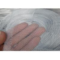 SS 316L Home Window Security Screens 1.5m Width With Metal Wire / Fiberglass Materials