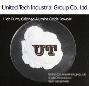 Quality high purity fine Calcined Aluminium Oxide Powder in refractory, ceramics, Al2O3,Alpha Calcined Alumina,CAS No.:1344-28-1 for sale