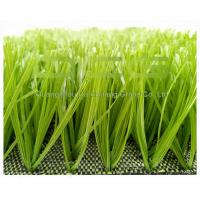 Quality Light Green C Shape Artificial Turf Soccer Field / Synthetic Grass Lawn for sale