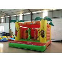 Quality Indoor Playground Kids Inflatable Bounce House 4 X 3.5m 0.55mm Pvc Tarpaulin Nontoxic for sale