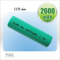 Quality Rechargeable Ni MH Batteries Ready To Use 2700mAh 1.2V For Electrical Remote for sale