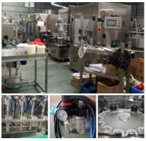 China Eco - Friendly Bottling Line Equipment / Glass Bottle Cap Sealing Machine on sale