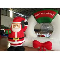 Quality Strong Oxford Outdoor Christmas Blow Ups , Snowman Inflatable Christmas Lawn Decorations for sale