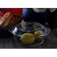Quality Clear Glass Salad Bowls  for sale