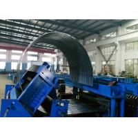 Quality Tank Sheet Custom Roll Forming Machine Steel Silo Curving Corrugated for sale