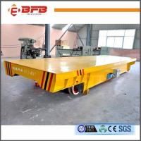 16T Cable Drum Powered  Rail Transporter  Motorized Electric Rail Transfer Cart for sale