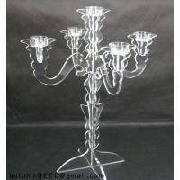 Quality CH (7) acrylic candlestick holder for sale