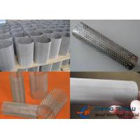 Quality Woven Wire Mesh & Expanded Metal & Perforated Metal Filter Tube for sale