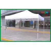 Quality Custom 3x3m White Pop Up Foldable Tent Gazebo For Promotion Advertising for sale