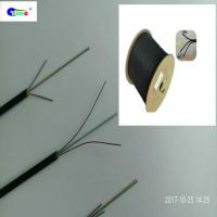 Buy G657A LSZH Jacket FTTH Indoor Drop Cable , 4 Core Fiber Optic Cable For at wholesale prices