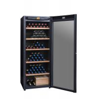 Quality Lockable Whiskey Display Cabinet , Table Top Bar Storage Cabinet Climadiff DVP305G for sale