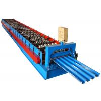 Steel Roof Panel Roll Forming Machine , Corrugated Roof Roll Forming Machine 13 Rows