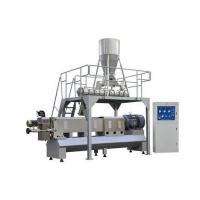 Buy 300kg/h small capacity fish farm double screw fish feed pellet machine in India at wholesale prices