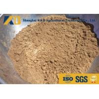 Quality Pure Fish Meal Powder / Fish Feed Additives Promote Animal Health And Growth for sale