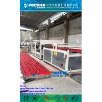 Quality PVC+ASA Composite Roof Tile Machine/PVC Roof Tile Manufacturing Machine/ASA synthetic resin roof tiles for sale