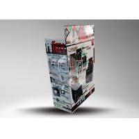 Buy Multi tier Advertising Cardboard Counter Display , Pos Paper Retail Store at wholesale prices