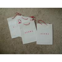 China Fancy Color Customized Paper Bags Kraft Paper With Logo Printing on sale