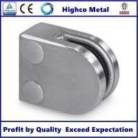 Quality Stainless Steel D Shape Flat Glass Clamp 40x50mm Fit 8-10mm Glass for Glass Railing and Balustrade for sale