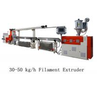 Buy cheap 30 - 50 kg/h 3D Printer Filament Extruder Line Single Screw Making Machine from wholesalers