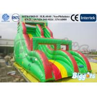 Quality Giant Kids Inflatable Slides Commercial Rental Business Inflatable Bouncy Slide With PVC for sale